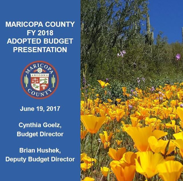 FY 2018 Adopted Budget Doc