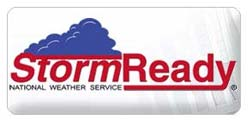 Storm Ready National Weather Service Logo